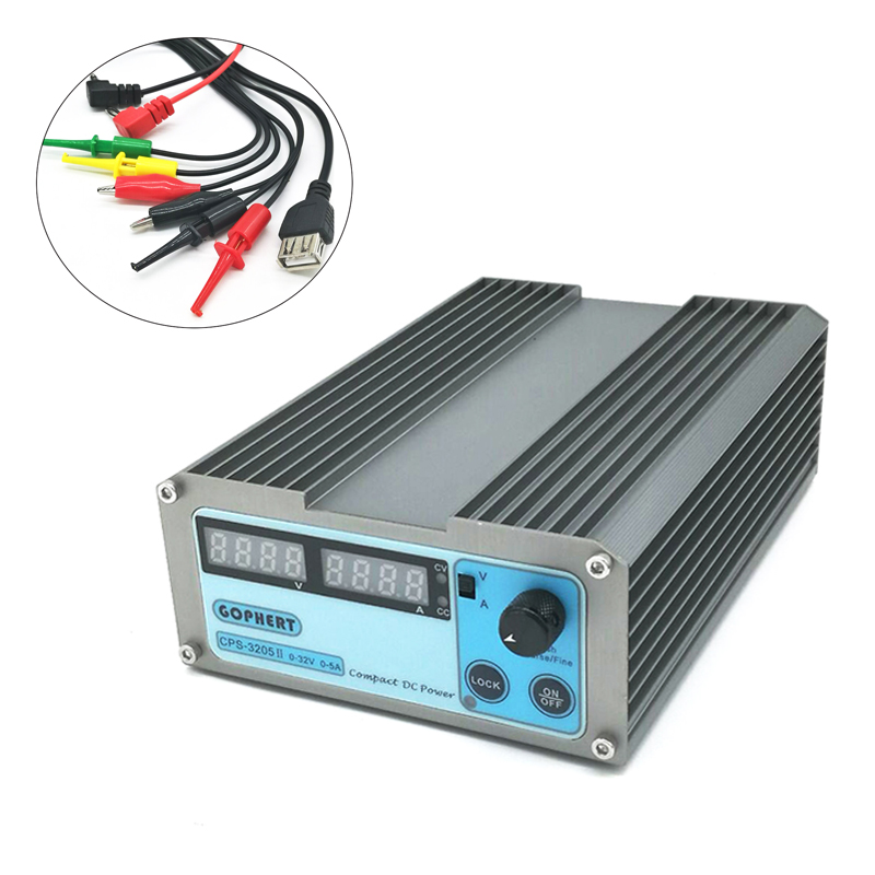 CPS 3205 160W 110Vac 220Vac 0 32V 0 5A Compact Digital Adjustable DC Power Supply CPS