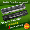 Free shipping Original laptop Battery For Asus N45SL N45SV N55E N55S N55SF N55SL N75 N75E N75S N75SF N75SJ N75SL N75SN N75SV