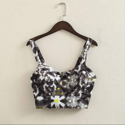 728c943a2c P221 new fashion women retro high street sexy Harajuku short corset wrapped bustier  crop tops-in Camis from Women s Clothing   Accessories