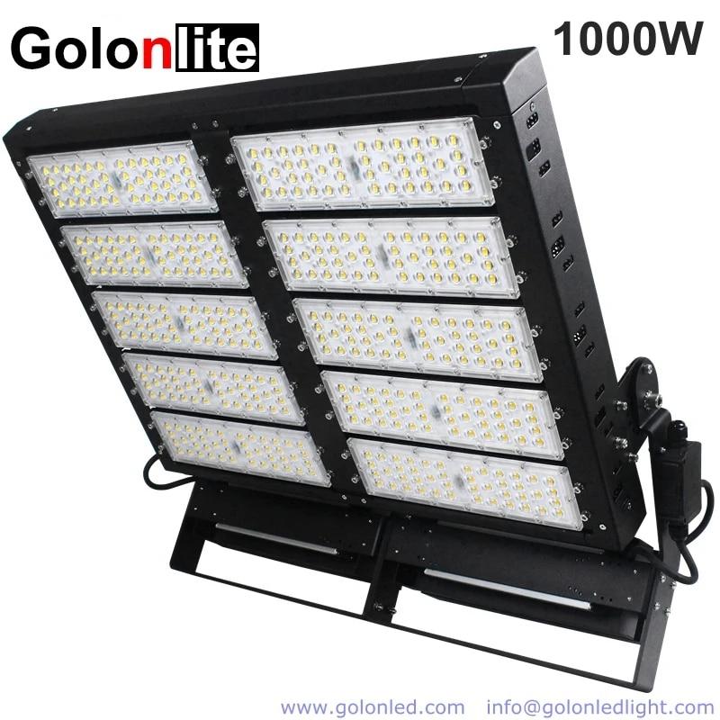 golonlite 1000w led flood light 800w for football soccer baseball cricket outdoor sport court lighting 140lm w high efficiency