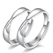 Женское Открытое кольцо с фианитом серебристое кристаллами