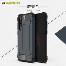 For Huawei P30 Case Shockproof Armor Rubber Duty Coque Fundas Phone Back Ascend Cover