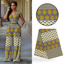 50fd0295ba6 2018 Belle Africaine Cire Tissus De Haute Qualité Ankara Africain Cire Tissu  Imprimé Africain Pour la Couture Beauté Femmes Robe.
