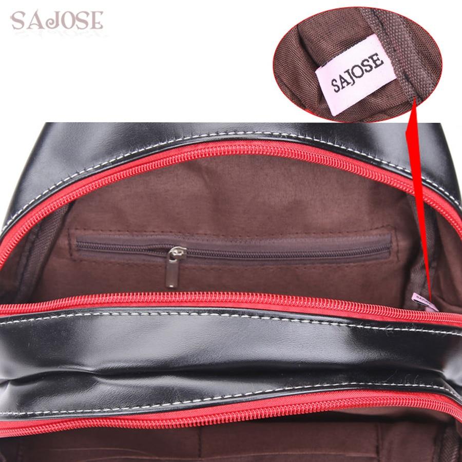 sajose última tendência folha de Bags Tipo : Backpack Shoulder Clutch Bag