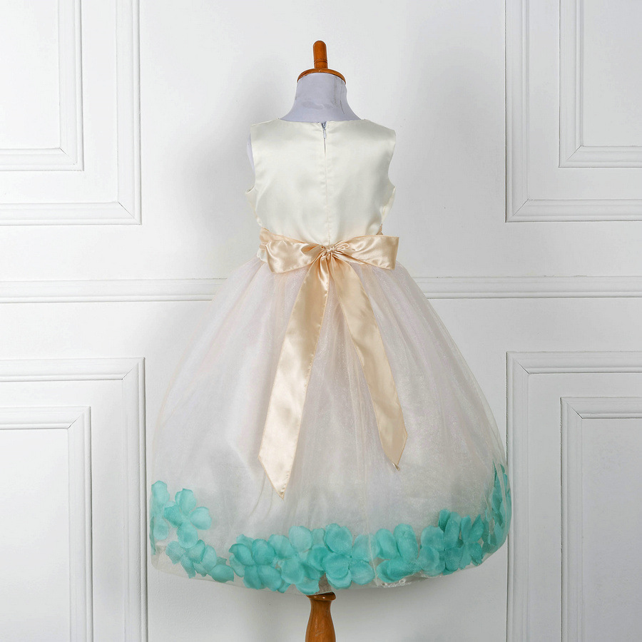 Vintage Prinzessin Baby Mädchen Kleidung Elegante Kinder Party Kleid ...