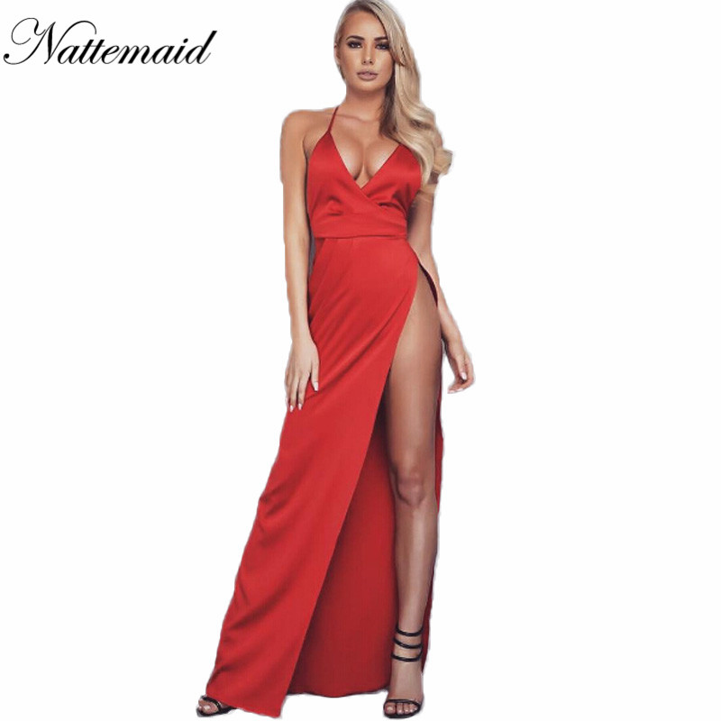 Popular Red Silk Long Dress-Buy Cheap Red Silk Long Dress lots ...