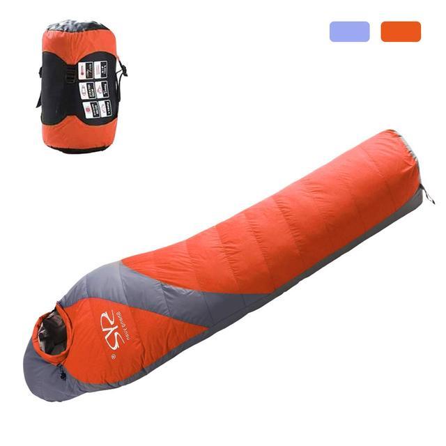 1600g Duck Down Winter Sleeping Bag  1