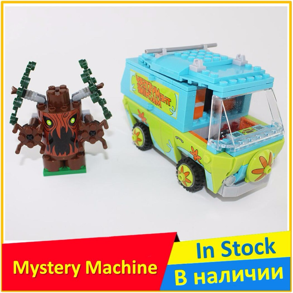 The Mystery Machine 75902 Building Blocks Model Toys For Children BELA 10430 Compatible legoing Scooby Doo Bricks Figure Set pogo bela 10430 scooby doo mystery machine scooby doo building blocks bricks toys compatible legoe