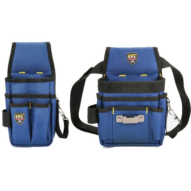 Bolsa de herramientas de cintura de electricista práctico trabajo  Multi-bolsillos bolsa de herramientas para 81e282627966