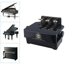 High Quality Piano Pedal Extender Adjustable Height Piano Foot Pedal Extender +3 Pedals
