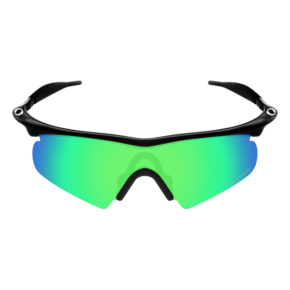3553038b28d ... canada mryok polarized resist seawater replacement lenses for oakley m  frame hybrid sunglasses emerald green in