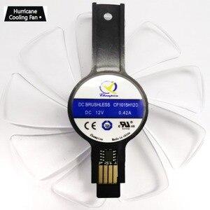 Image 5 - 95mm CF1015H12D Graphics Card Cooler Fan for Sapphire NITRO RX480 RX470 8G RX 470 480 570 580 590 RX570 4G 8G RX580 8G RX590 D5