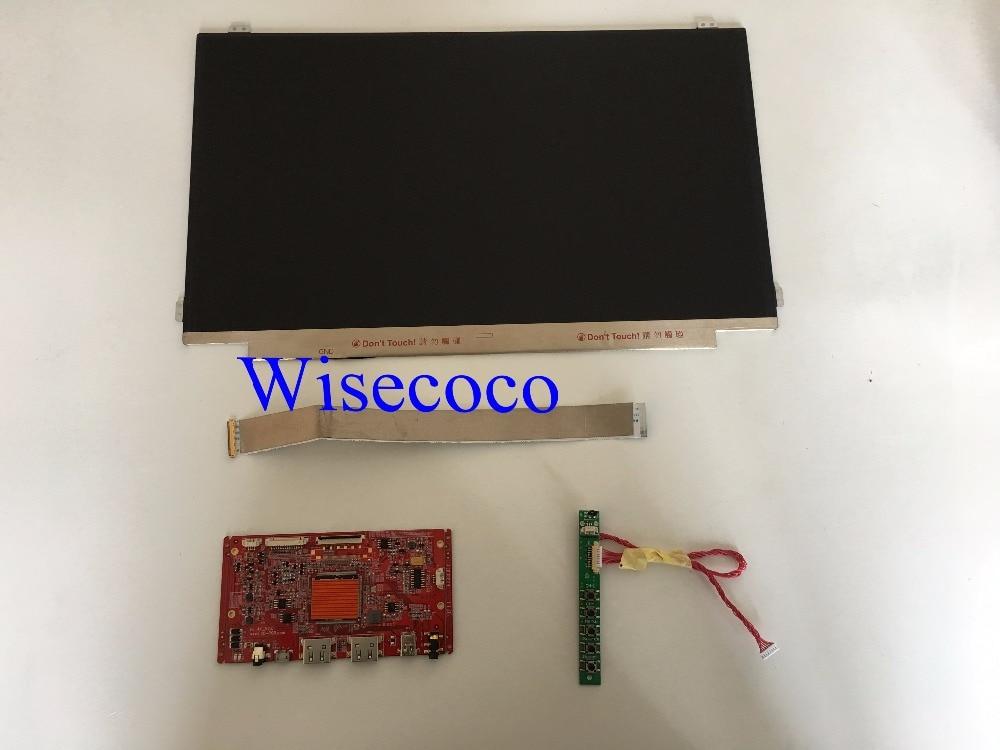 15.6 pouce 4 k 3840*2160 Moniteur LCD avec HDMI Contrôle Kit 40pins pour projet Framboise pi 3 2 1
