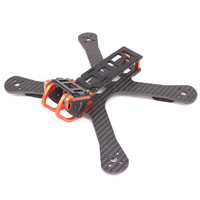 PUDA X220 5 Inch 220mm Wheelbase 4mm Arm Carbon X Type Frame Kit For RC Quadcopter