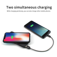 KISSCASE Fast Battery Charging Case For Samsung Galaxy S8 S9 S10 Plus S10E Power Bank For Samsung Note 9 8 Battery Charger Cover