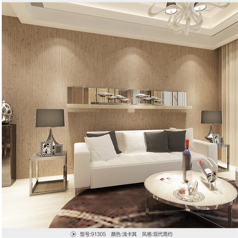 beibehang luxury wallpaper modern simple drawing texture non woven ...