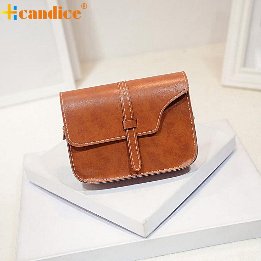Naivety Women Handbag New Fashion Girl Satchels Bag High Quality Solid PU Leather Lady Office Flap Shoulder Bags Handbags JUN6