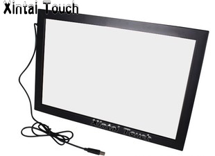 40 inch Infrared Touch Panel kit for Digital Signage / Real 4 points interactive IR multi touch Screen Frame overlay russian french spanish prompt voice smart home security gsm alarm system wireless remote control by sms calling with lcd display