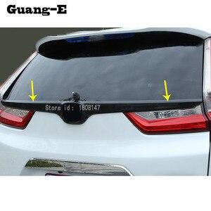 Наклейка для Honda CRV, 1 шт., наклейка на заднюю часть автомобиля с логотипом, дверь, задняя дверь, задняя дверь, рама, накладка, детали для багажн...