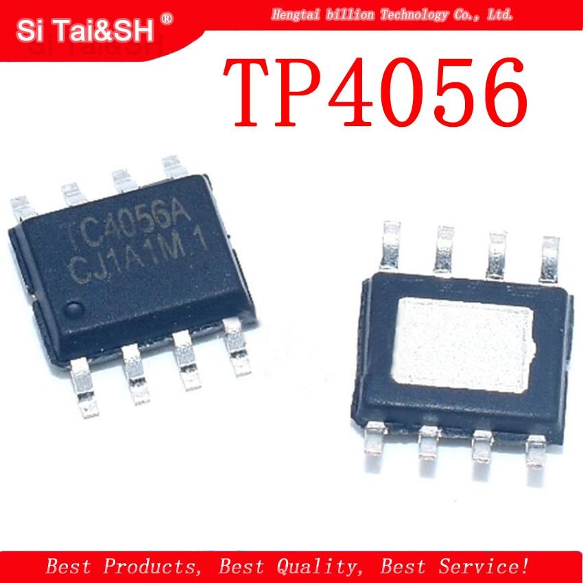 50Pcs Tp Chip Battery Charging TP4056 SOP-8 Ic New iy