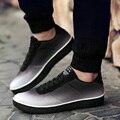 2017 Высокое Качество Мужчины Обувь мягкой дышащей Моды Причинные Плоские Туфли мужчины Кроссовки Дышащий Легкие Мягкие Квартиры размер 39-44