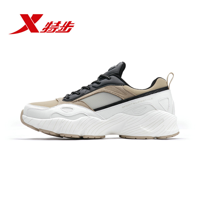 XTEP Brand Professional Running Shoes 2019 Men Sports Shoes Damping Cushioning Trail Runner Athletic Wide Sneakers 984419119255