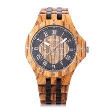 BEWELL Fashion Men Watch Male Business Wood Watch Man Dress Quartz Watches Waterproof Date Wristwatch Relogio Masculino 2017