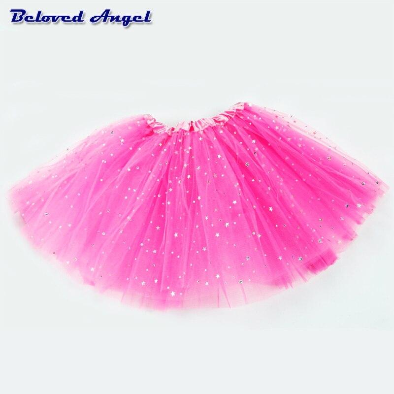 Baby Tutu Skirt Girl Skirts Kids Net Yarn Chiffon Tulle Skirt Children's Performance Clothes Girls Ballet Dancing Party Skirt 6