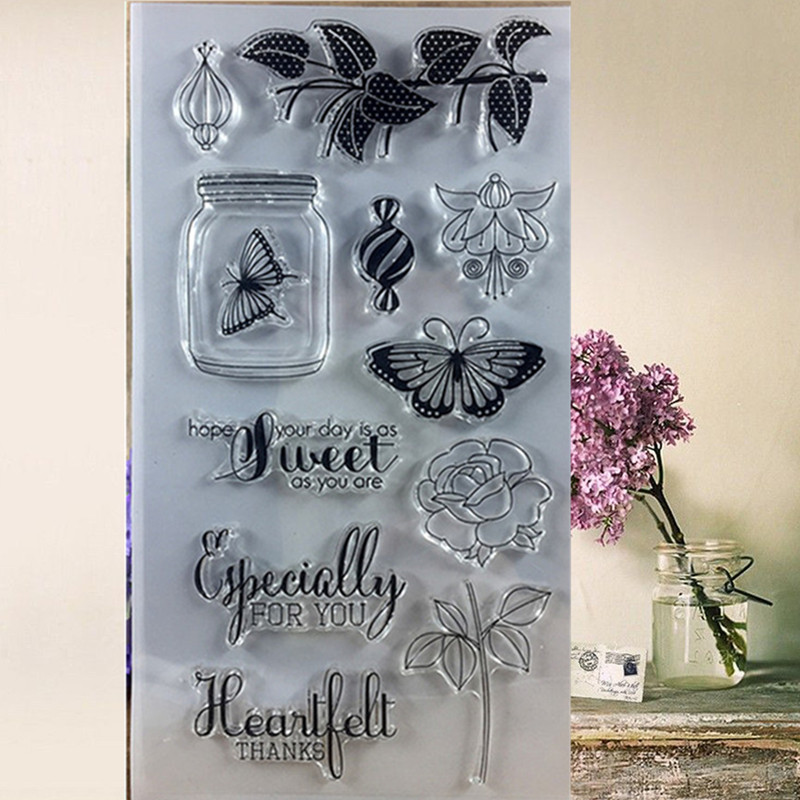11*16 vase tower Christmas vintage Transparent rubber stamp DIY Clear kids stamps sheet for Scrapbooking craft stamp Decor tools details about east of india rubber stamps christmas weddings gift tags special occasions craft