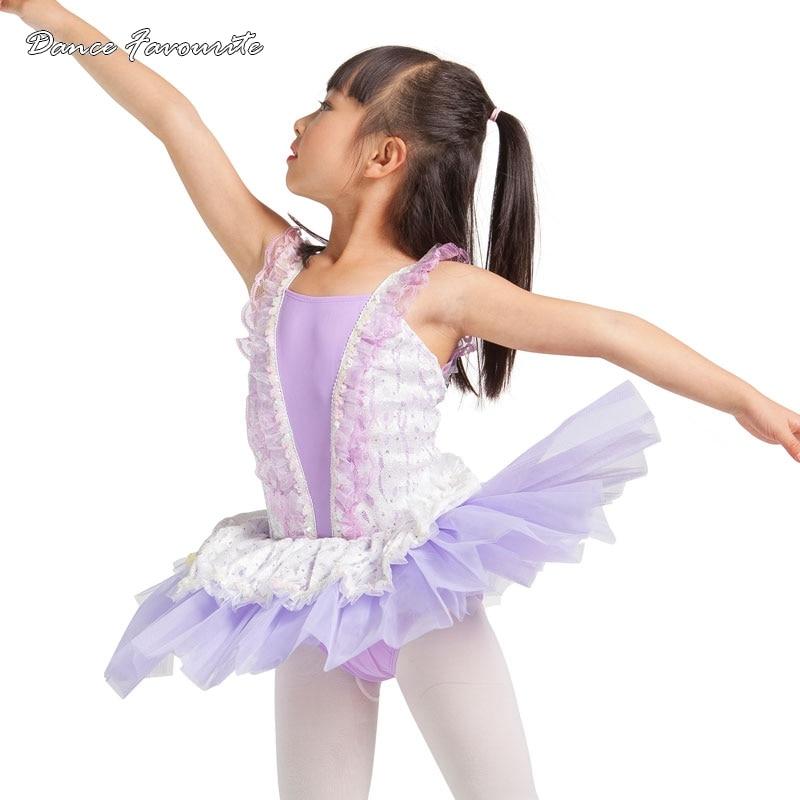 Dance Favourite Lilac color bodice ballet tutu, nice design girl ballet costume tutu ballerina ballet tutu