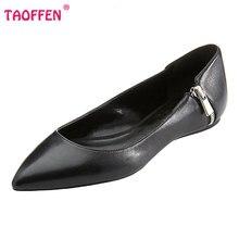 Fashion Women Shoes Woman Flats high quality Casual Comfortable pointed toe Zipper Women Flat Shoe New Flats Size 35-46 B252