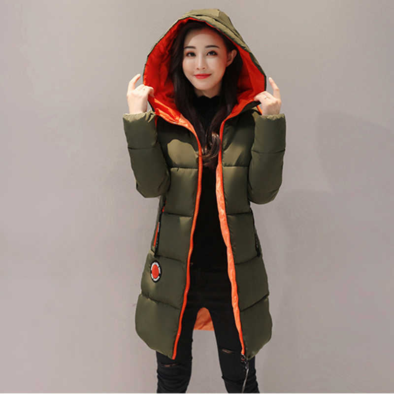 339dc426ea5 M-3XL Winter Jacket women 2018 New Thick Fashion Warm Cotton Coat Long  Hooded Parka