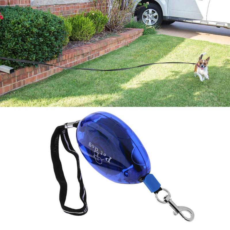 Pet Products Home & Garden Hearty 5m Walking Running Pet Supplies Retractable Traction Rope Creative Lamp Automatic Dog Leash Dog Rope
