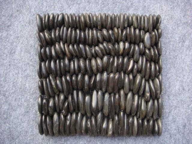 classic pebble Yuhua marble stone mosaic <font><b>tiles</b></font> HMSM1019H for kitchen backsplash mosaic bathroom wall mosaic mesh backing