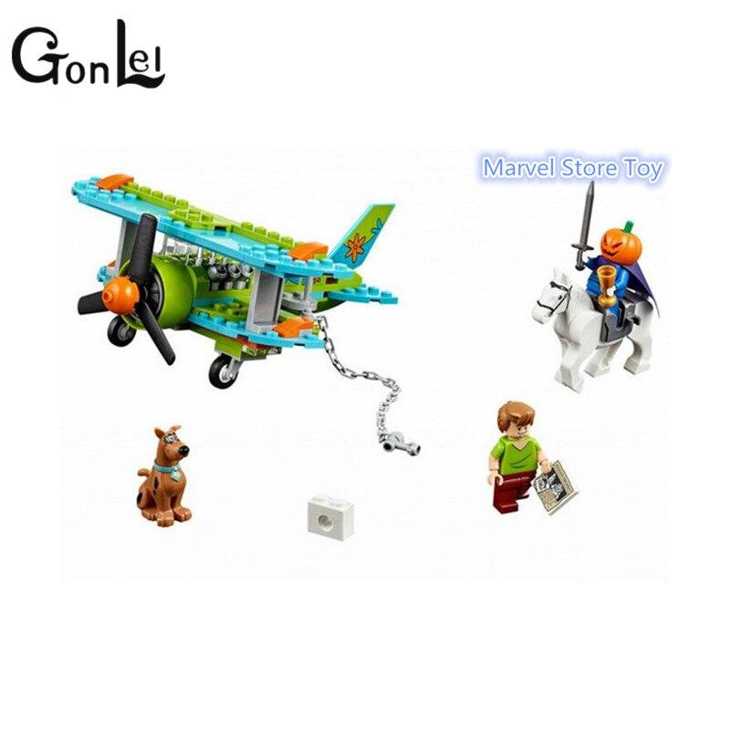 GonLeI Бела 10429 Музей Скуби Ду Мумия Таинственный самолет Строительный блок Игрушки