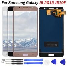 j5 screen For Samsung Galaxy J5 2016 LCD Display J510 SM J510F J510FN J510M J510Y / DS LCD Panel Touch Screen replacement screen защитная плёнка для samsung j5 2016 sm j510fn суперпрозрачная luxcase