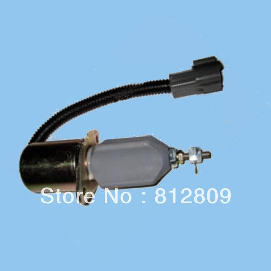 Fuel Shutdown Solenoid Valve 1751ES-12A3UC12B1S for  Excavator R60-5 Yanmar engine fuel blends for caribbean power a techno economic feasibility study