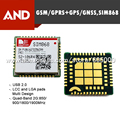 1pc free shipping SIM868,GSM/GPRS/BLUETOOTH/GPS/GLONASS MODULE,Text and PDU mode