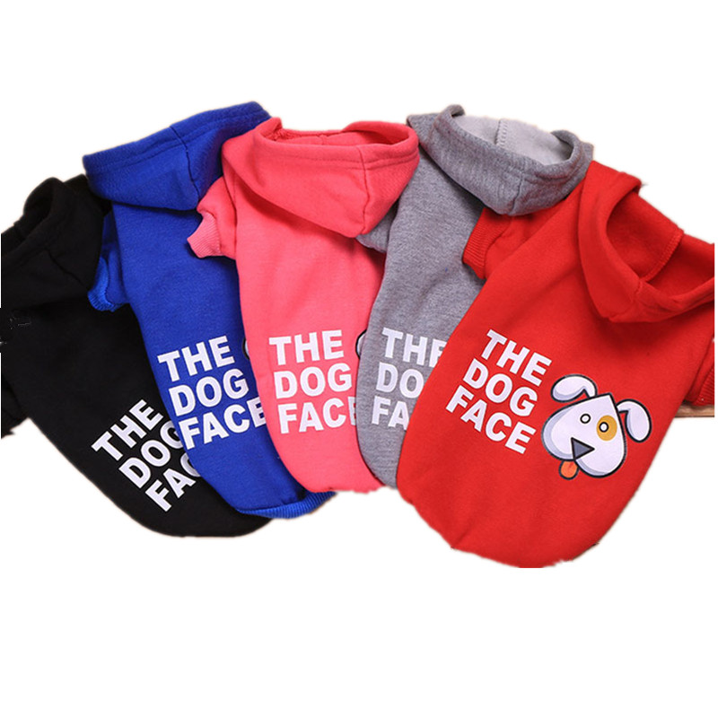 US $3 31 17% OFF|hondenkleding Clothing for Dogs Hoodies Clothes for Small  Medium Dog Pet Clothes The Dog Face Coat Pet Products Cartoon 15 S1-in Dog