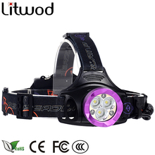 Litwod z307307 12000LM 3xXM-L2+3xCOB Led Headlamp Headlight Head Lamp lighting Light Flashlight Torch Lantern Fishing