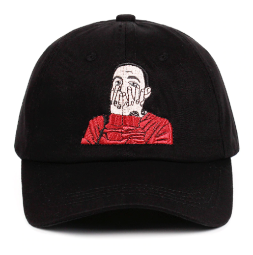 Mac Miller Printed Dad Hat US Repper Baseball Cap Strapback Hat Cotton Cap