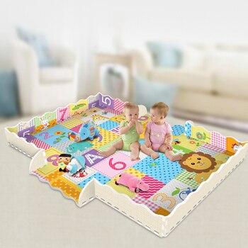 цена на Cartoon Animal Pattern Carpet EVA Foam Puzzle Mats Kids Floor Puzzles Play Mat For Children Baby Play Gym Crawling Mats