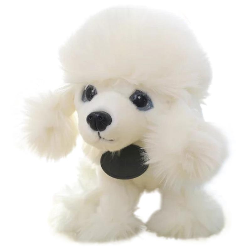 25cm Simulation Dog Siberian Husky Plush Kids White Brown Toys Soft