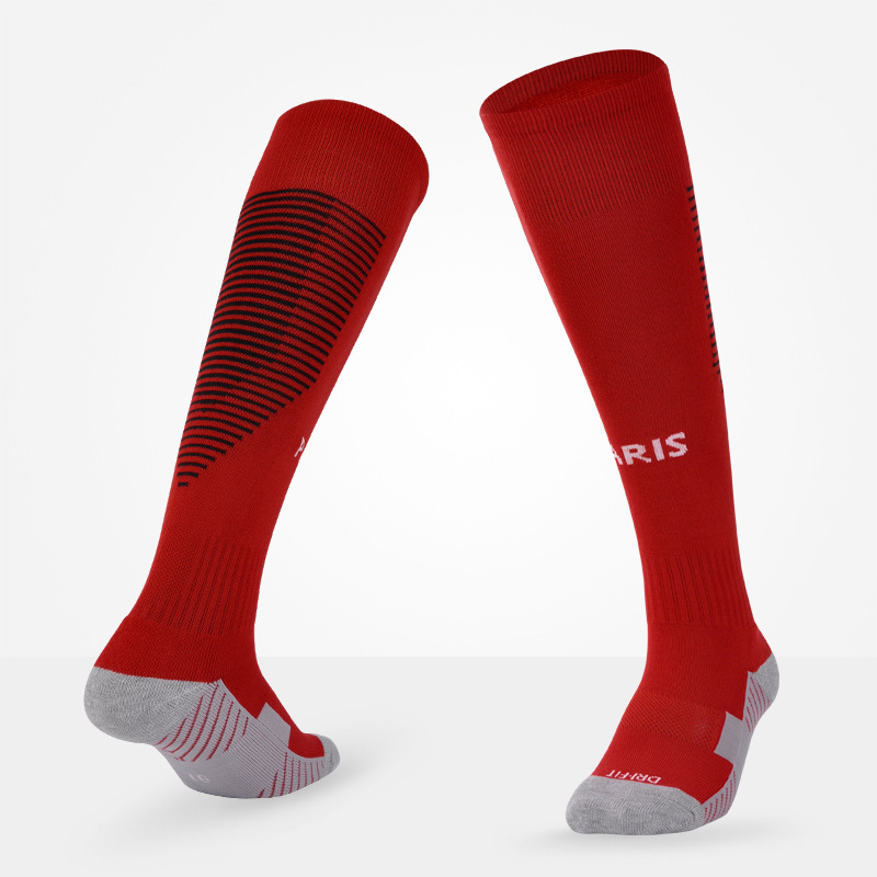 Men Soccer Socks Professional Club Football Antiskid Thick Warm Socks Knee High Training Long Stocking Skiing Socks For Adult