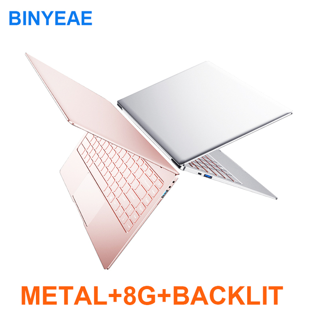 Metal 14inch with 8G RAM 128G 256G 512G 1TB SSD Gaming Laptop intel j3455 Quad Core Backlit Keyboard Notebook Computer Ultrabook