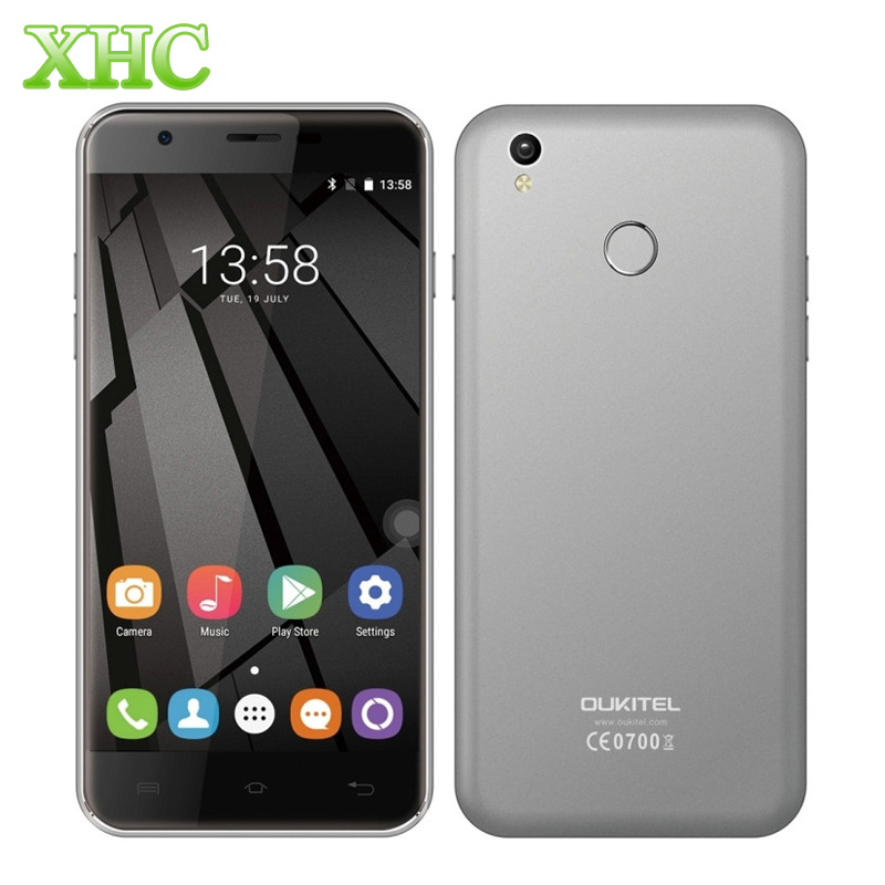 OUKITEL U7 Plus 16 GB Lector De Huella Dactilar Smartphone 5.5 pulgadas 2.5D And
