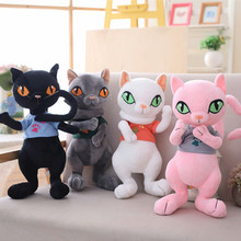 2019 New 1pc 30cm/40cm/50cm Cute  Cat Plush Lovely Animal Toy Children Kids Birthday Christmas Gifts