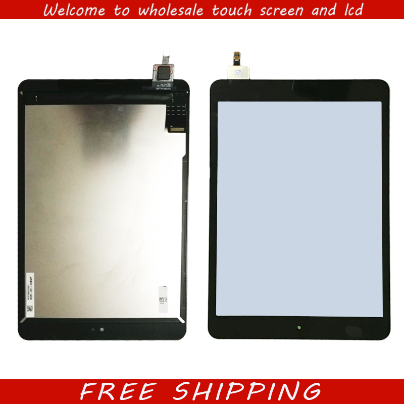 все цены на For Nokia N1 N1S 7.9 Inch lcd screen display + touch screen panel digitizer assembly replacement part free shipping онлайн