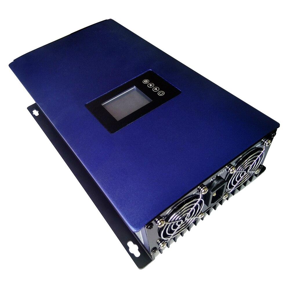 Чистая синусоида 1000 Вт 48 в 96 в 110 в 120 в 220 В ветер на сетке инвертор bult в контроллере сетка галстук инвертор с wifi светодиодный дисплей