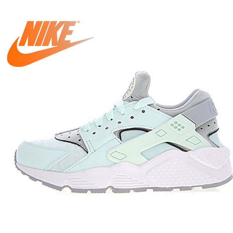89a257d81855 Nike Air Huarache Run Premium Women s Original Sneakers Women s Outdoor  Comfort Sport Running Shoes Green and